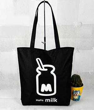 78309c8ef693 Холщовая сумка с донной складкой, плотность 240 гр., черная \ Пошив ...