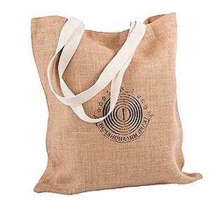 14e56f46327c Холщовая сумка на плечо Juhu, неокрашенная, джутовые промо сумки ...